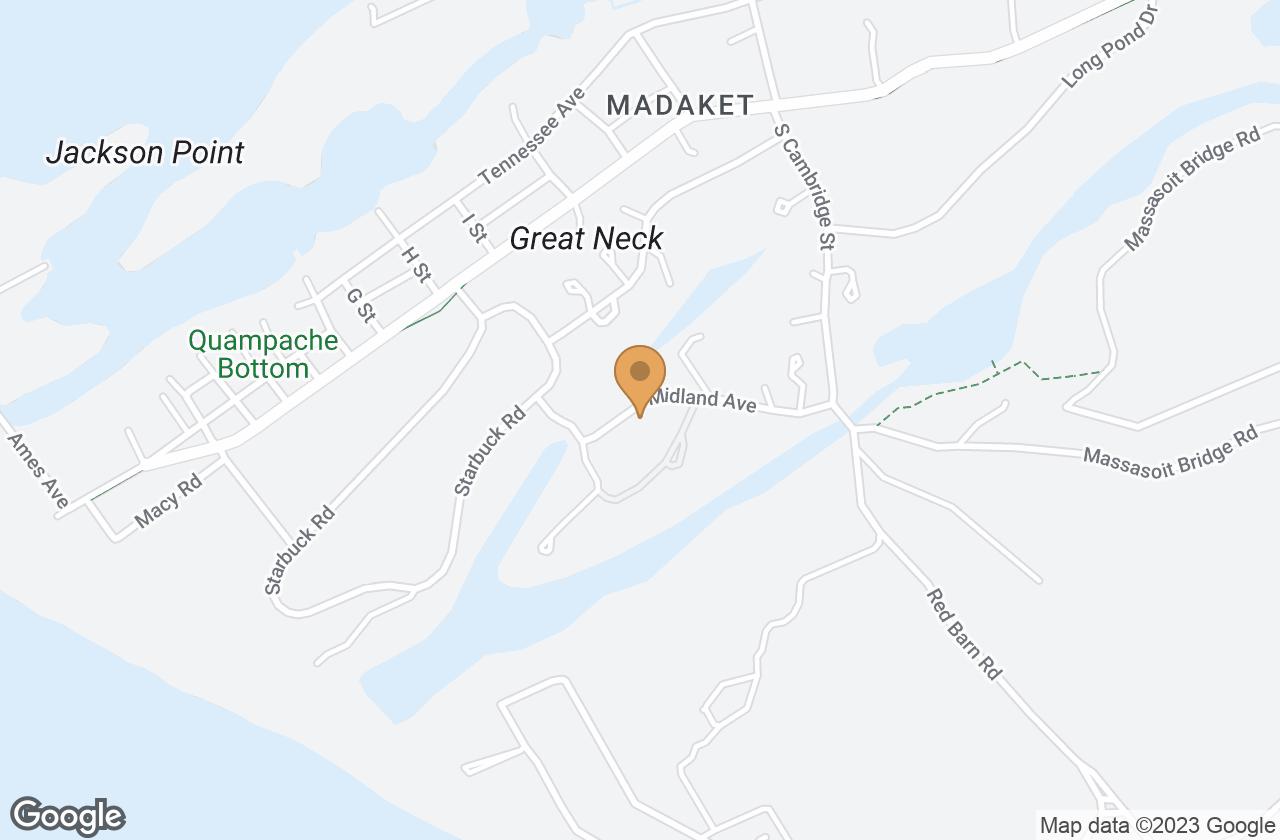 Google Map of 20 Midland Ave