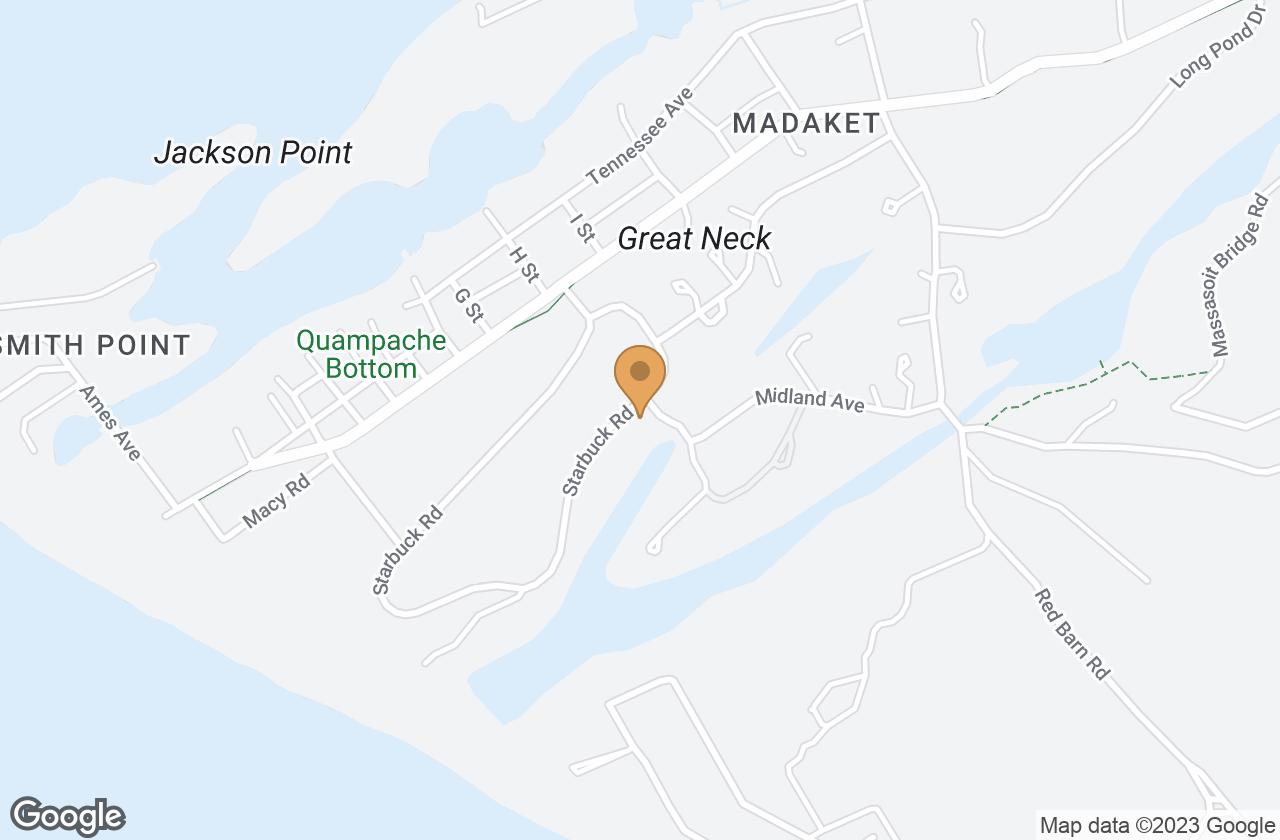 Google Map of 61 Starbuck Rd