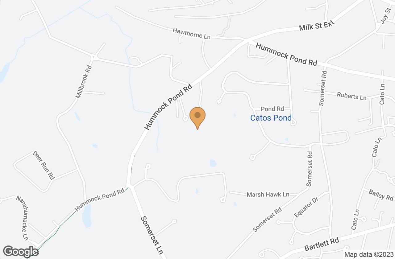 Google Map of 12B Oak Hollow Lane, Nantucket, MA, USA