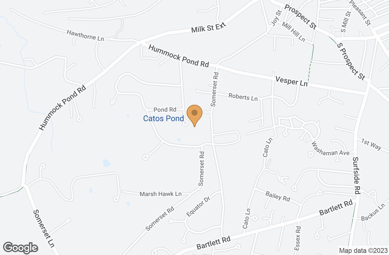 Google Map of 8 Pinkham Cir