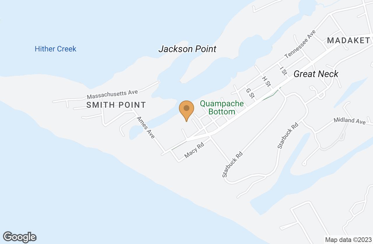 Google Map of 329 Madaket Road