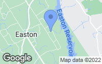 Map of Easton, CT