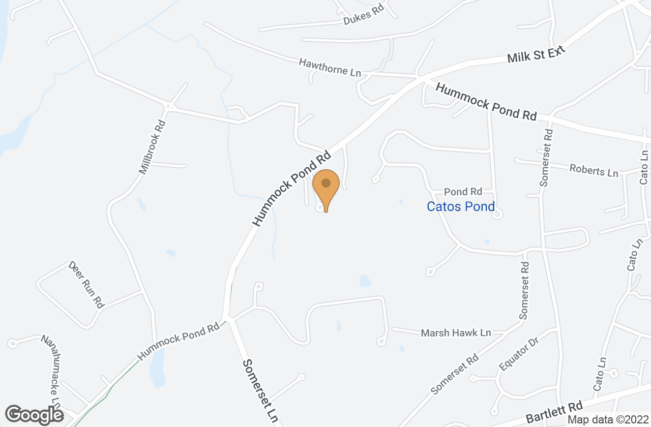 Google Map of 16 Aurora Way, Nantucket, MA, USA