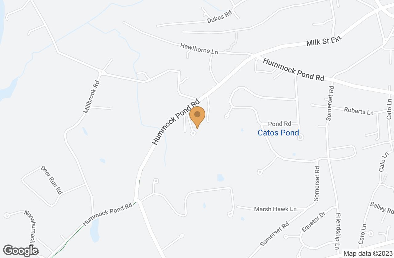 Google Map of 10 Aurora Way, Nantucket, MA, USA