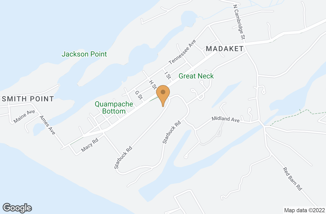 Google Map of 3 Starbuck Rd