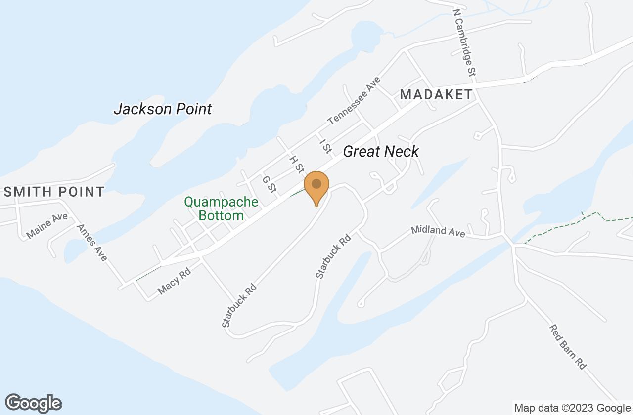 Google Map of 3 Starbuck Rd