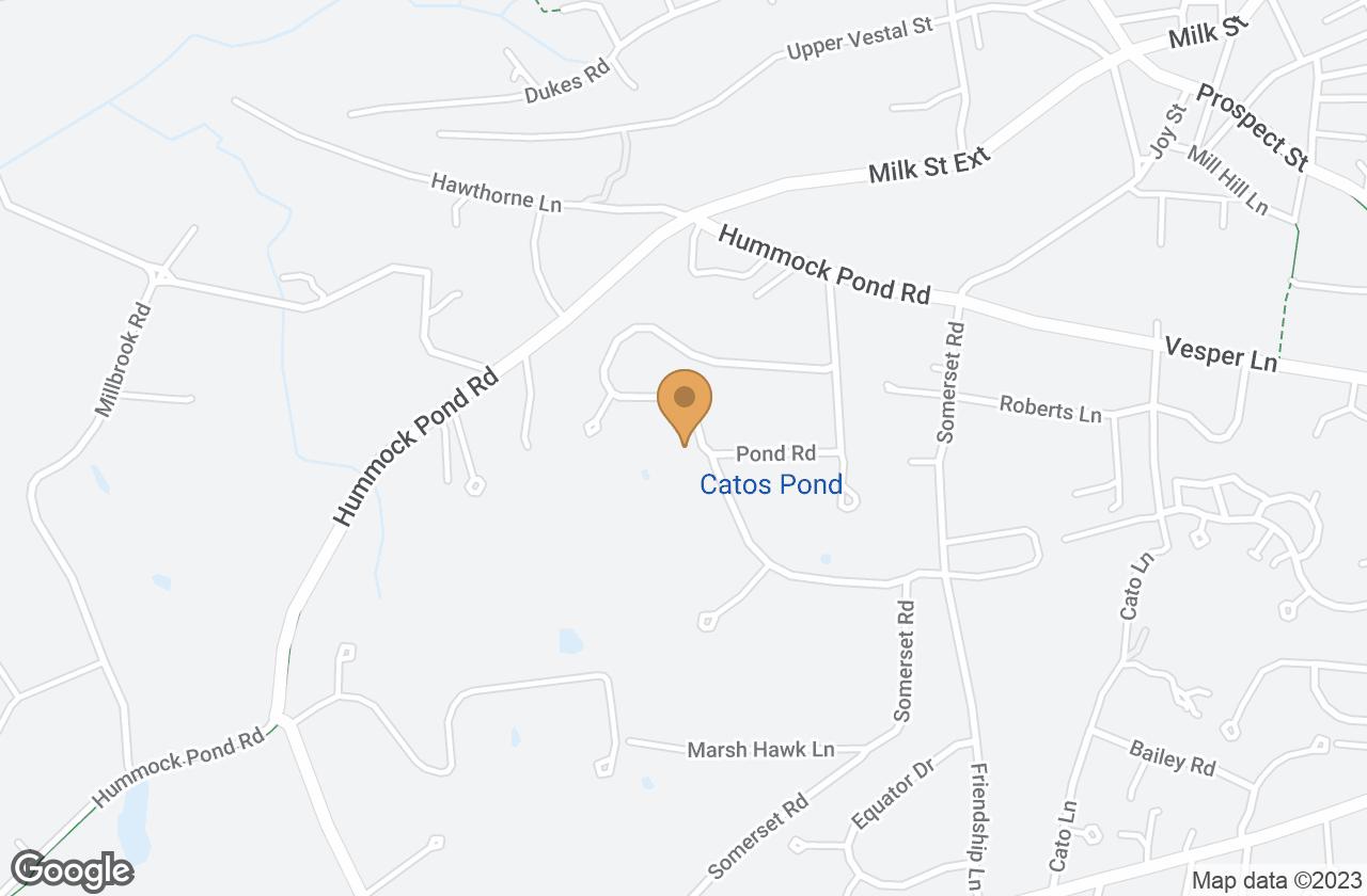 Google Map of 39 Meadow View Drive, Nantucket, MA, USA