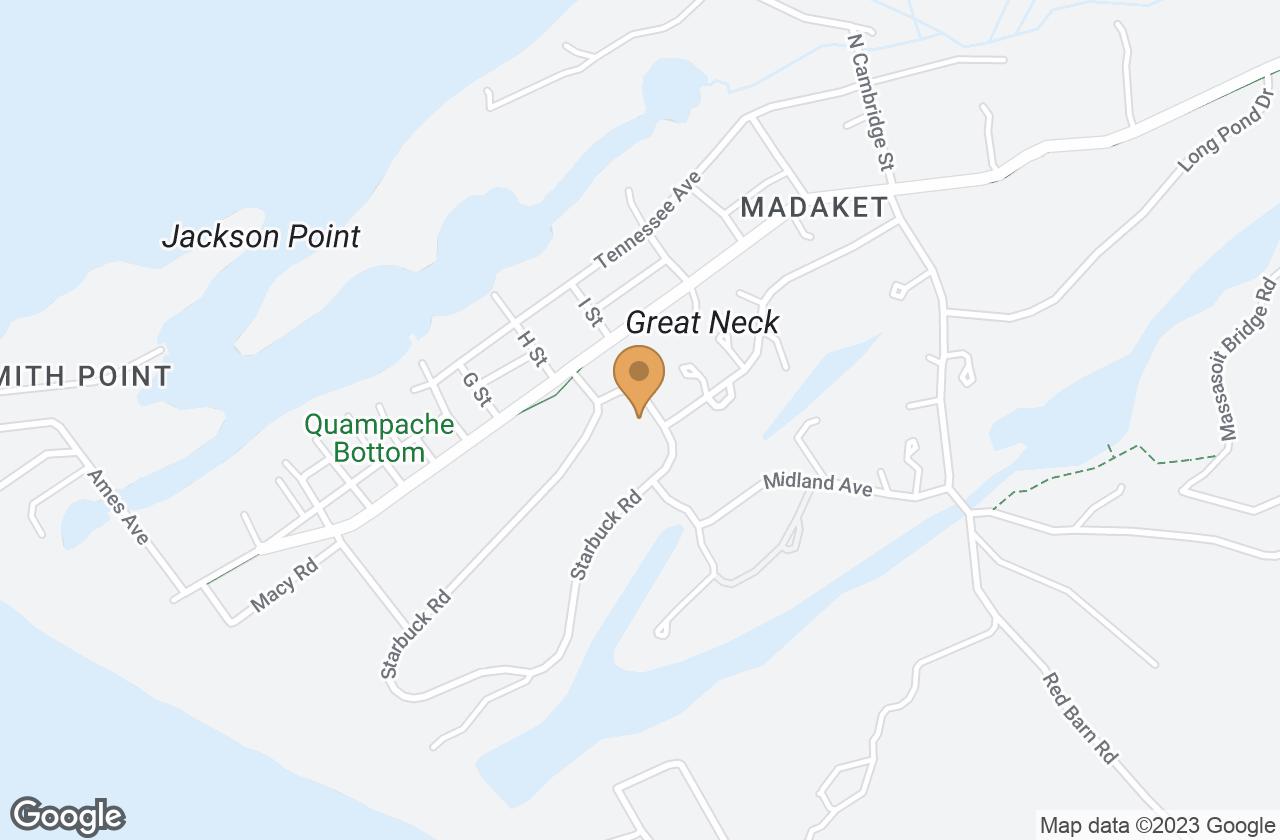 Google Map of 64 Starbuck Rd