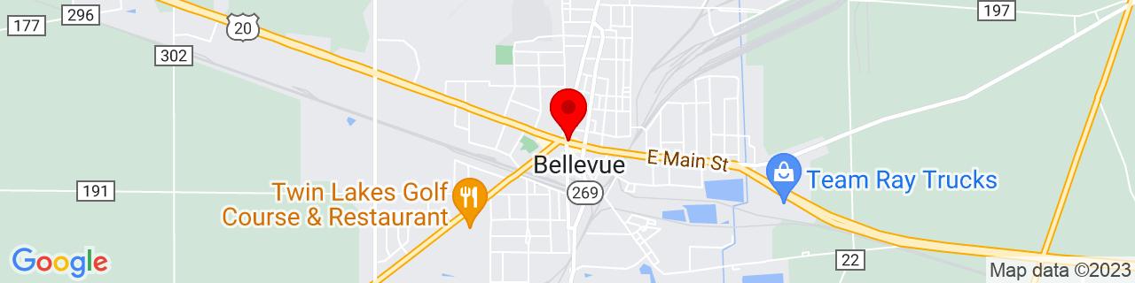 Google Map of 41.27381099999999, -82.840608