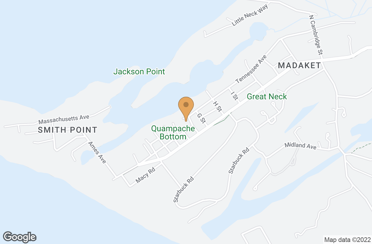 Google Map of 8 F St