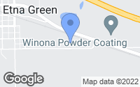 Map of Etna Green, IN