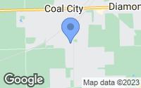 Map of Coal City, IL