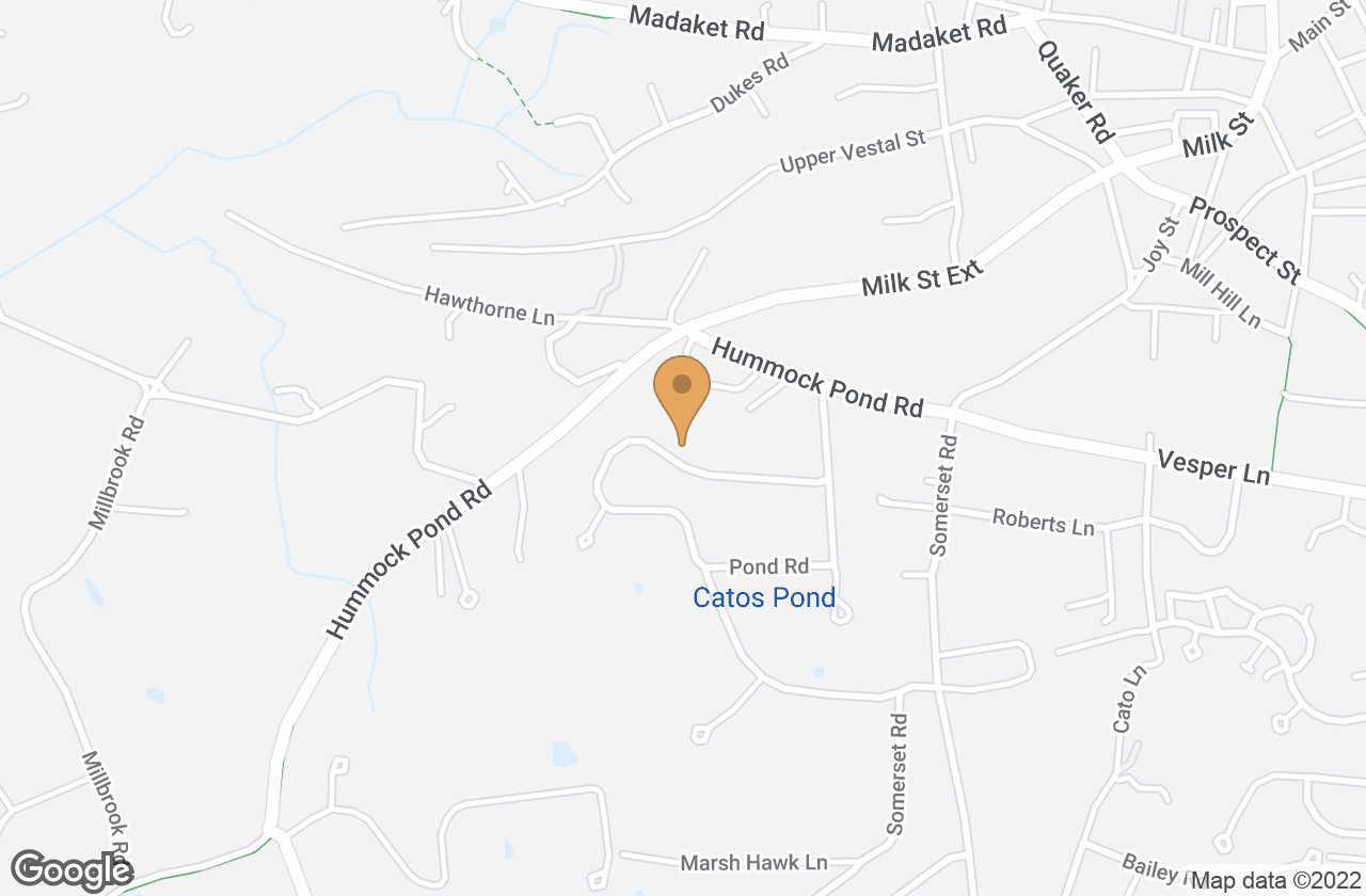 Google Map of 17 Meadow View Drive, Nantucket, MA, USA