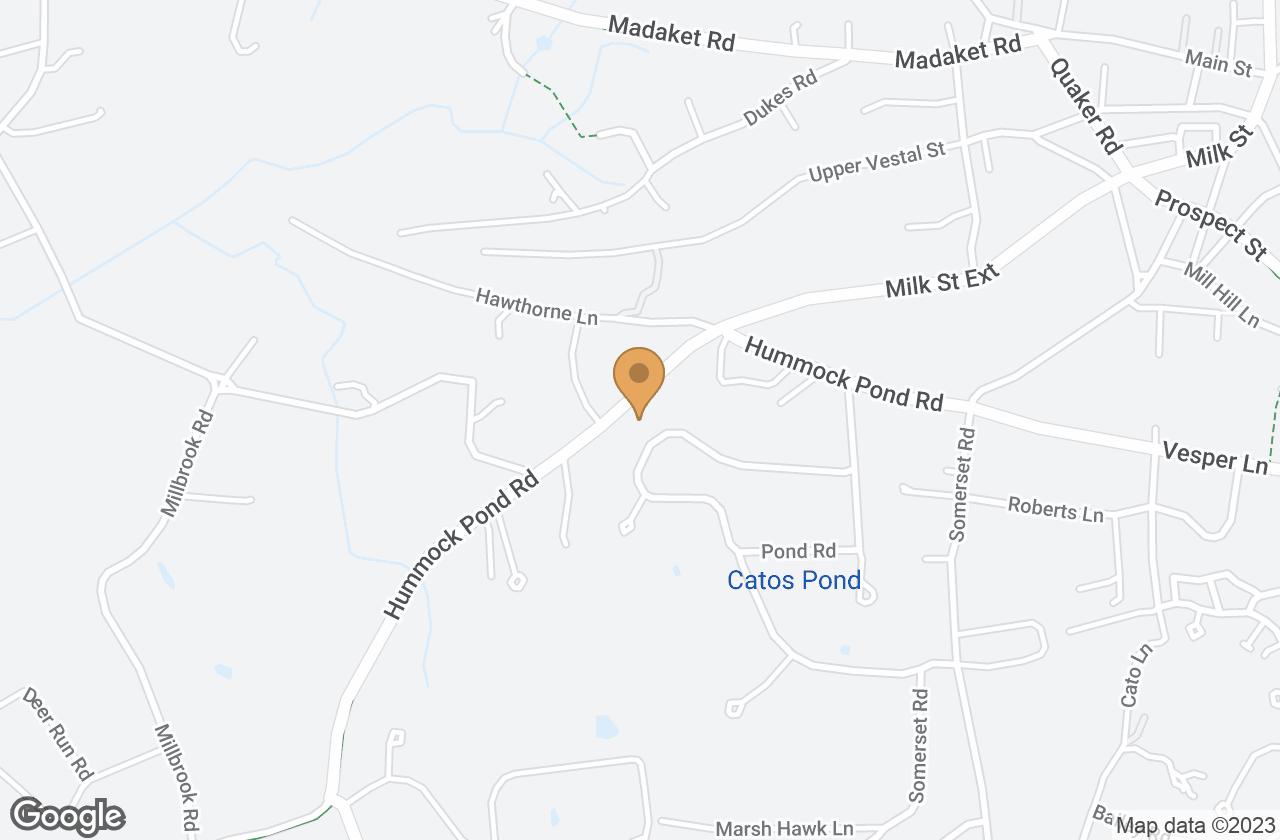 Google Map of 50 Hummock Pond Road, Nantucket, MA, USA