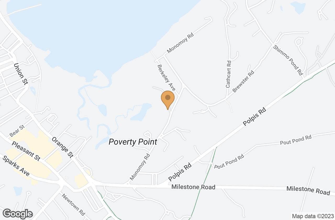 Google Map of 26 Monomoy Road, Nantucket, MA, USA