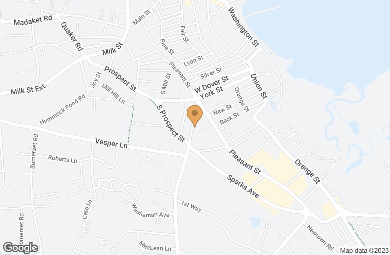 Google Map of 16 Atlantic Avenue, Nantucket, MA, USA