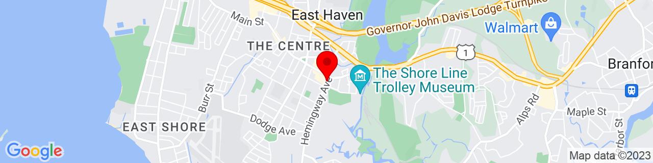 Google Map of 41.2757112, -72.8684938