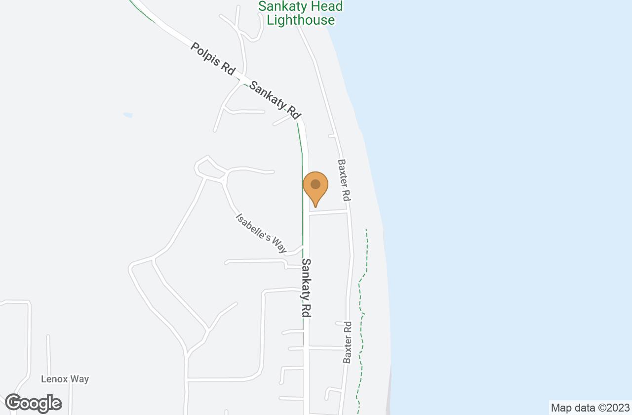 Google Map of 9 Bayberry Lane, Nantucket, MA, USA