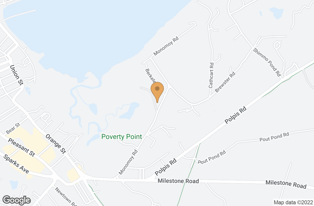 Google Map of 30 Monomoy Rd