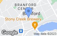Map of Branford, CT