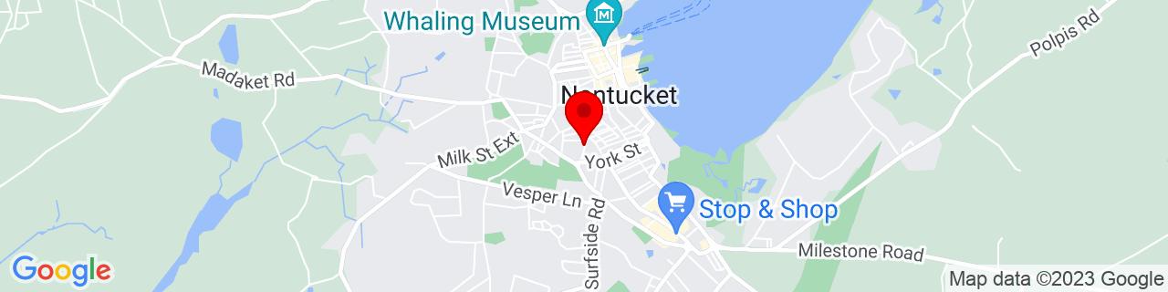 Google Map of 41.2783192, -70.10065449999999