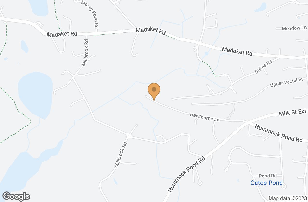 Google Map of 77 Hawthorne Park, Nantucket, MA, USA