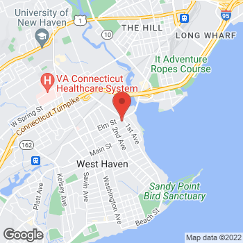 Map of Rite Aid at 70 Elm Street, West Haven, CT 06516