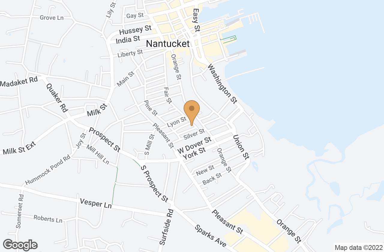 Google Map of 59 Fair Street, Nantucket, MA, USA