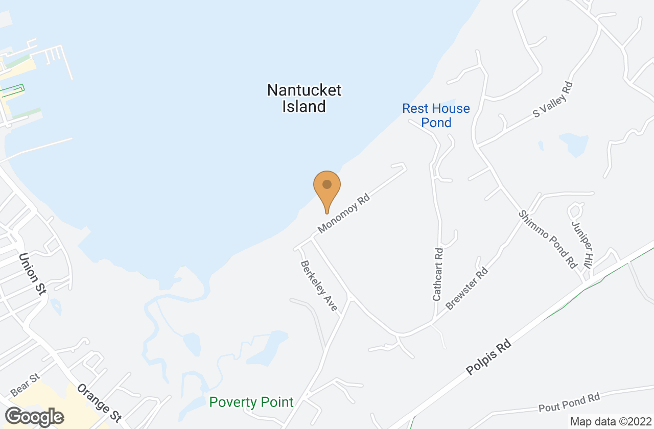 Google Map of 54 Monomoy Rd