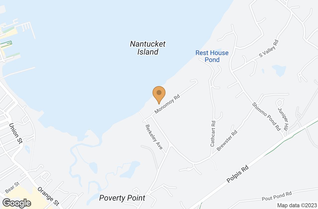 Google Map of 54 Monomoy Rd