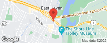 Map of 152 Saltonstall Pkwy in East Haven