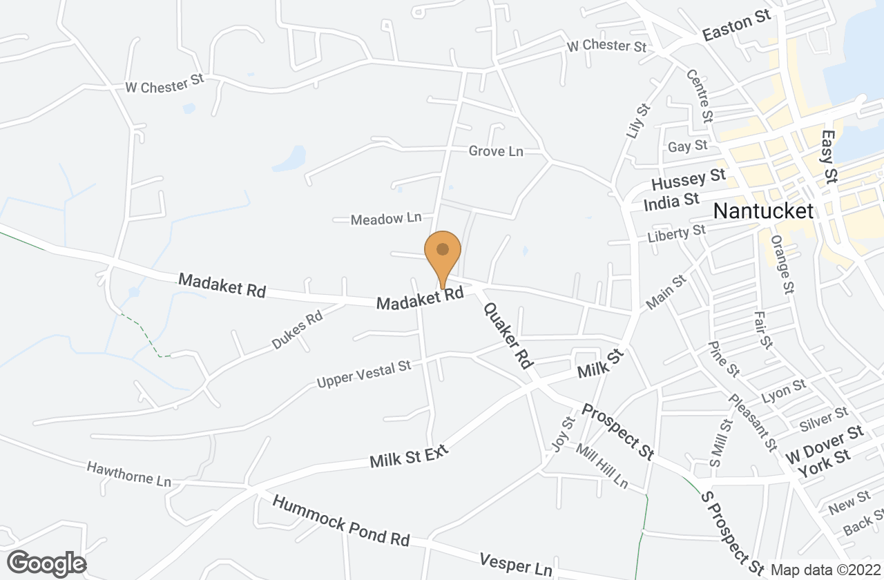 Google Map of 1 Madaket Rd