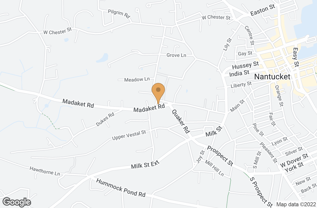 Google Map of 1 Madaket Rd