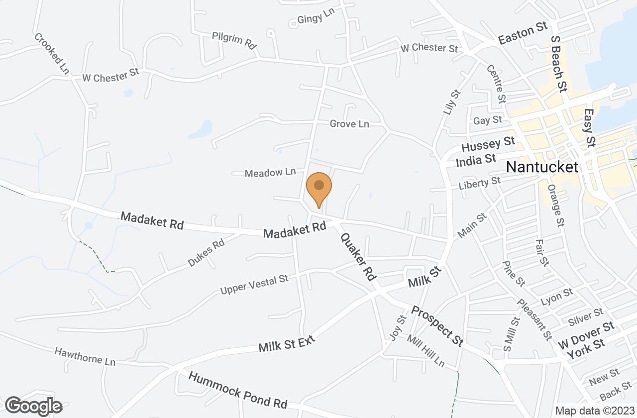 Google Map of 159 Main Street, Nantucket, MA, USA