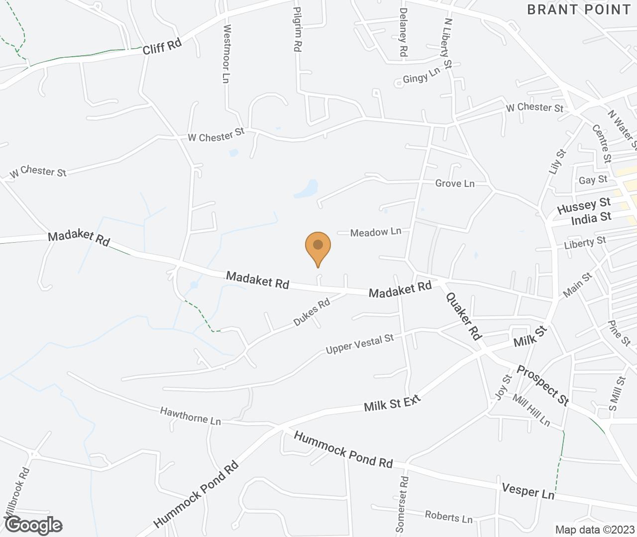 Google Map of 31 Madaket Rd