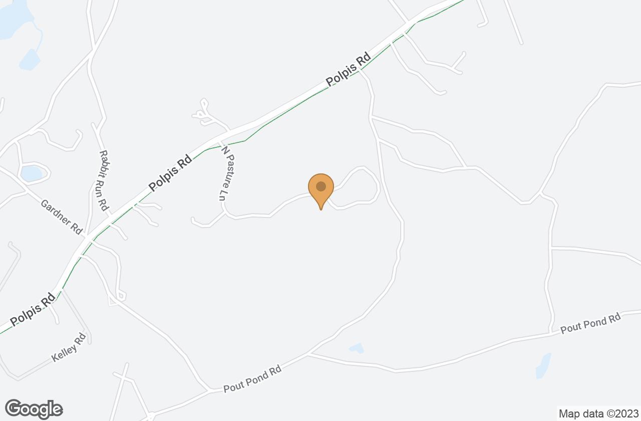 Google Map of 21 North Pasture Lane