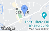 Map of Guilford, CT