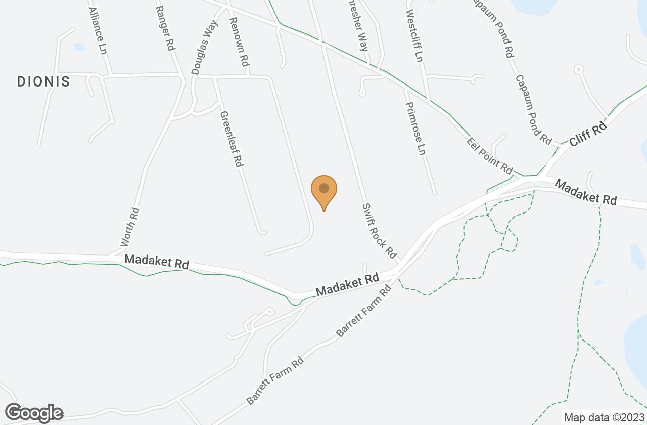 Google Map of 20B Bishops Rise, Nantucket, MA, USA