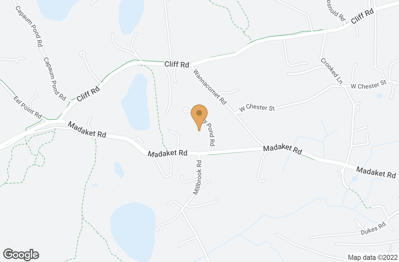 Google Map of 4 Maxey Pond Rd