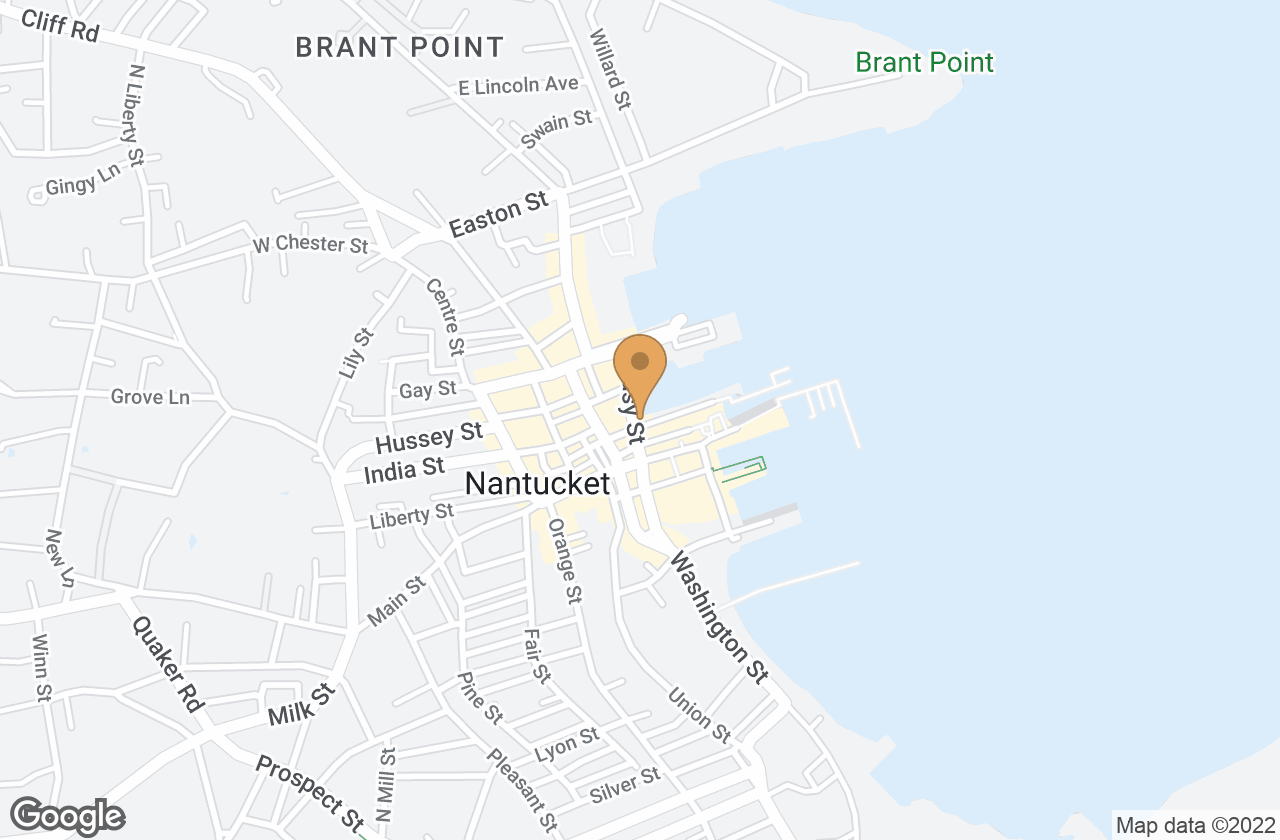 Google Map of 7 Easy Street, Nantucket, MA, USA