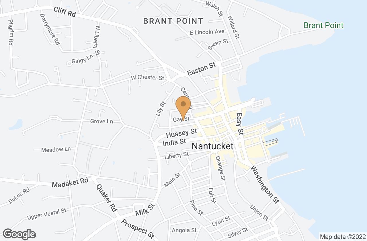 Google Map of 4 1/2 Gay St