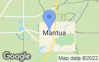 Map of Mantua, OH