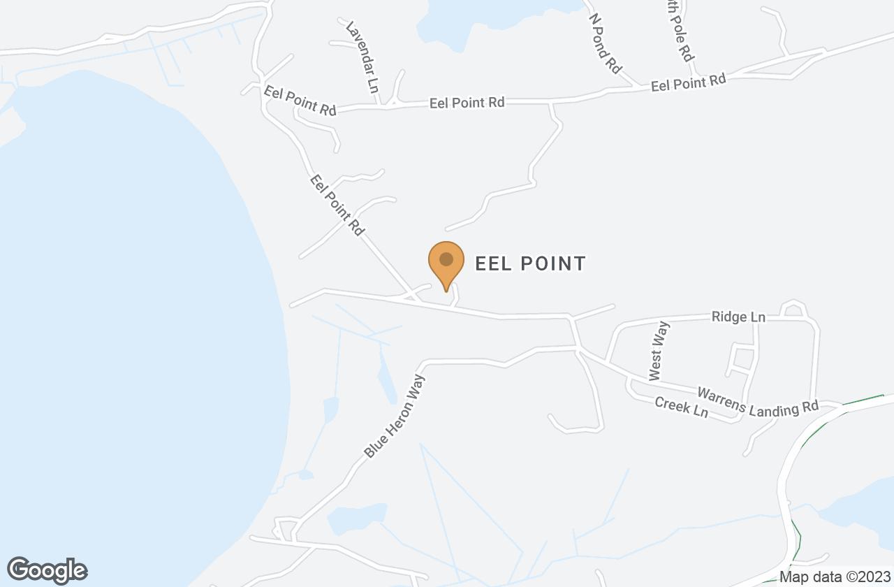 Google Map of 49 Warrens Landing Rd
