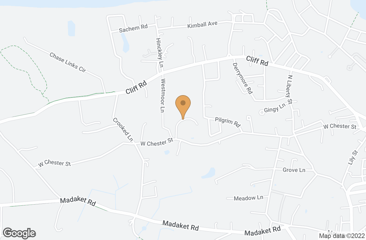 Google Map of 8 (portion of) Old Westmoor Farm Road, Nantucket, MA, USA