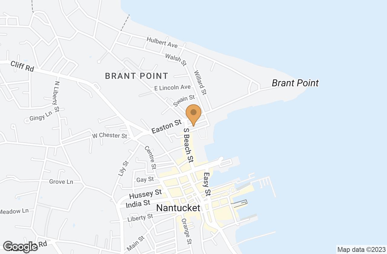 Google Map of 4  Harbor View Way, Nantucket, MA, USA