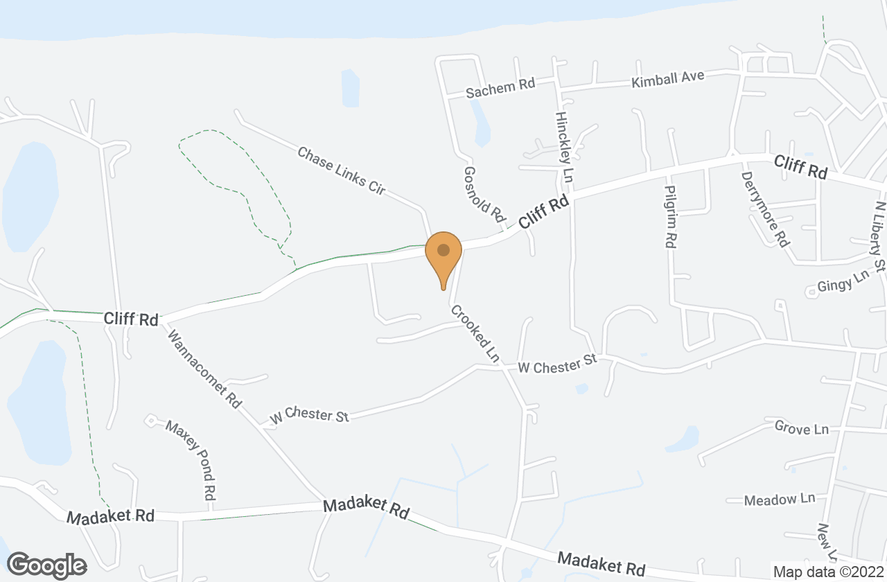 Google Map of 7A Crooked Lane