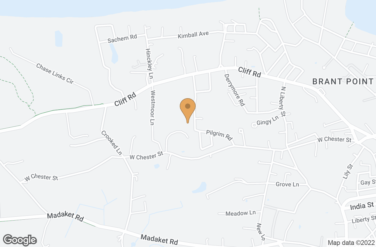 Google Map of 10  Old Westmoor Farm Road, Nantucket, MA, USA