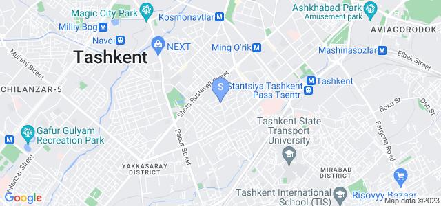 Расположение гостиницы Бордо на карте