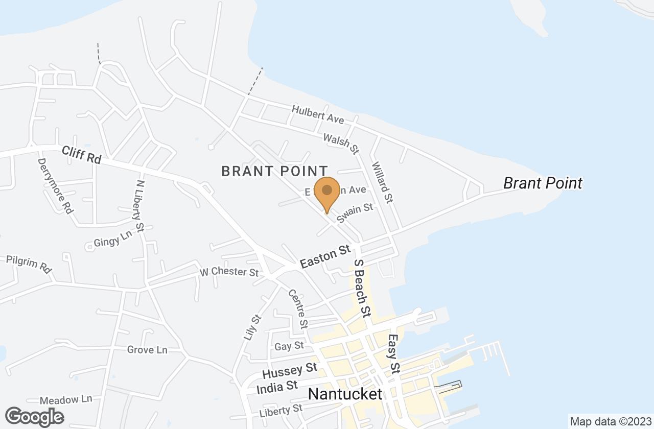 Google Map of 19 Beach Grass Road, Nantucket, MA, USA