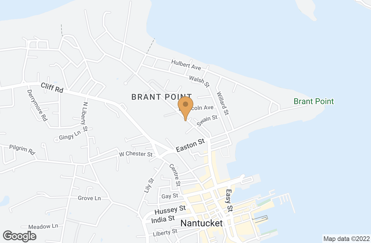 Google Map of 16 Beach Grass Road, Nantucket, MA, USA